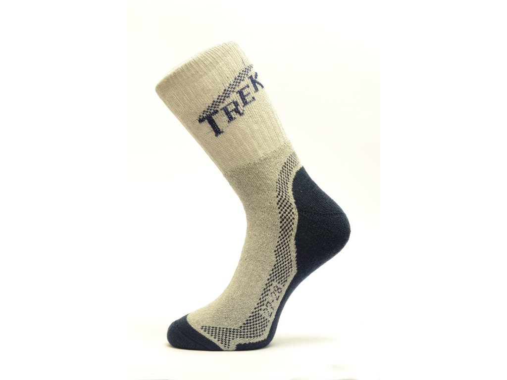 Sportovní froté ponožky Trek - fusekle.cz f4c97e8950