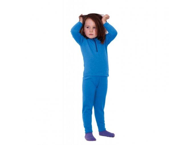 Vlněné Merino spodky Sova 5151 modrá