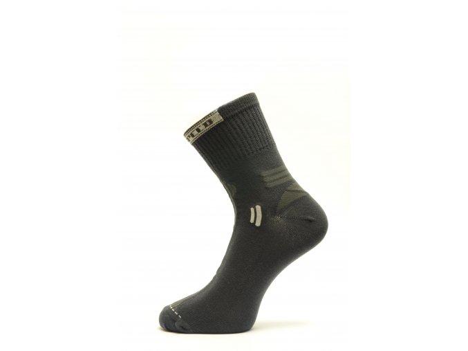 Slabší sportovní ponožka s přídavkem stříbra Speed