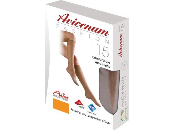 Pohodlné podkolenky - Avicenum Fashion 15