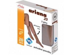 Pohodlné ponožky, 2 páry - Ariana 20