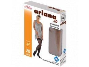 Pohodlné punčochy na podvazek - Ariana 20