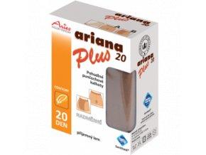 Nadměrné pohodlné punčochové kalhoty - Ariana 20 Plus