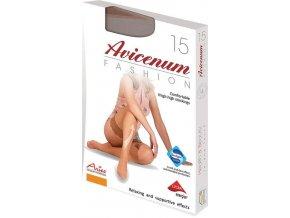 """Pohodlné bokové punčochové kalhoty Avicenum Fashion 15 """"LOW-CUT"""""""