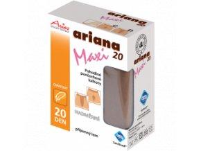 Nadměrné pohodlné punčochové kalhoty - Ariana 20 maxi