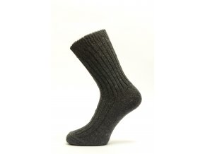 Teplé vlněné žebrované ponožky - Vladan