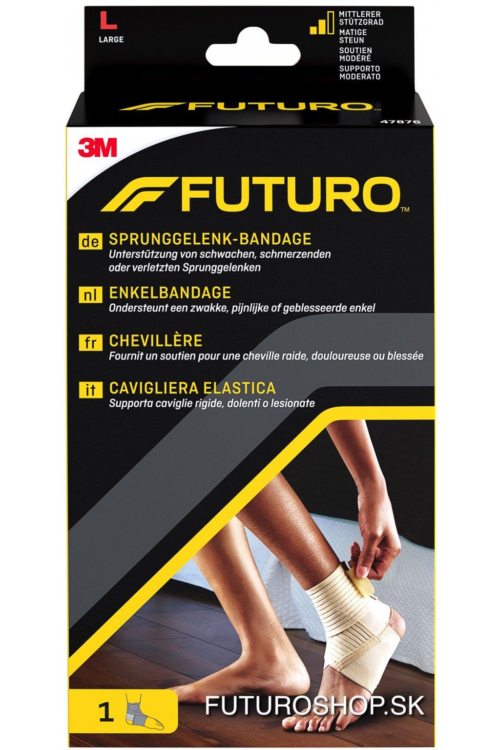 3M FUTURO bandáž na členok Stabilizing 47876, veľkosť L