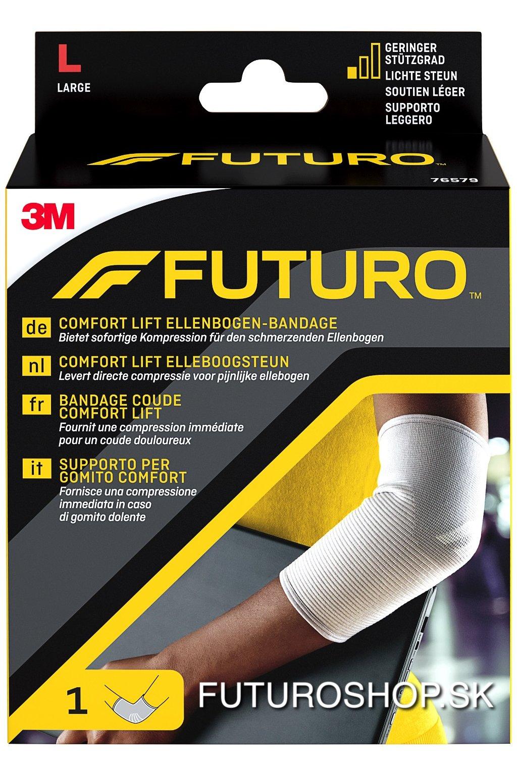 3M FUTURO bandáž na lakeť Comfort Lift 76579, veľkosť L