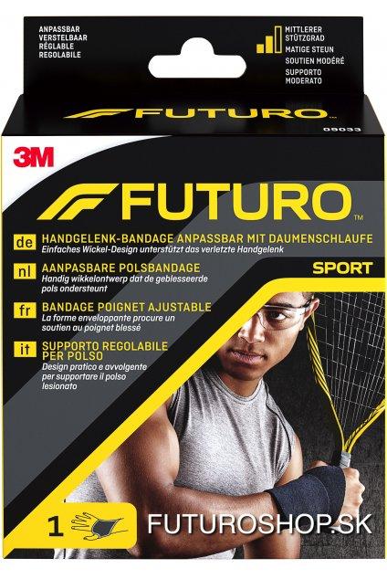 3M FUTURO SPORT nastaviteľná bandáž na zápästie 9033