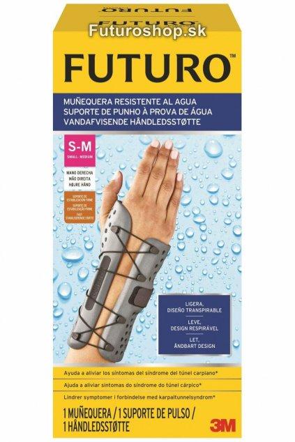 3M FUTURO vodeodolná zápästná bandáž 58500, pravá ruka, veľkosť S-M