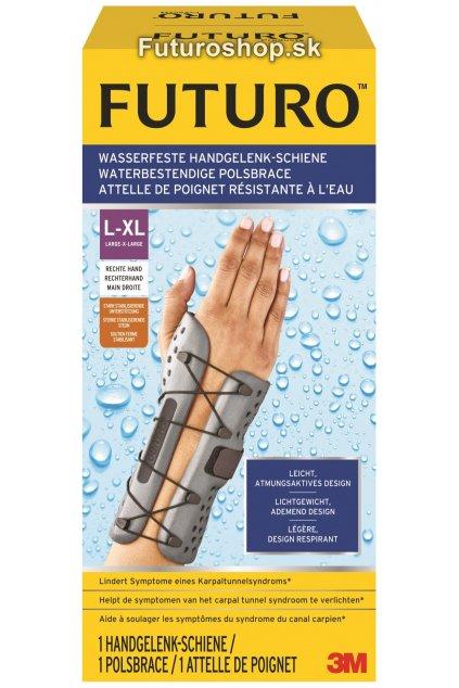 3M FUTURO vodeodolná zápästná bandáž 58502, pravá ruka, veľkosť L-XL