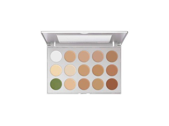 kryolan ultra foundation palette 15 colours 1577 p