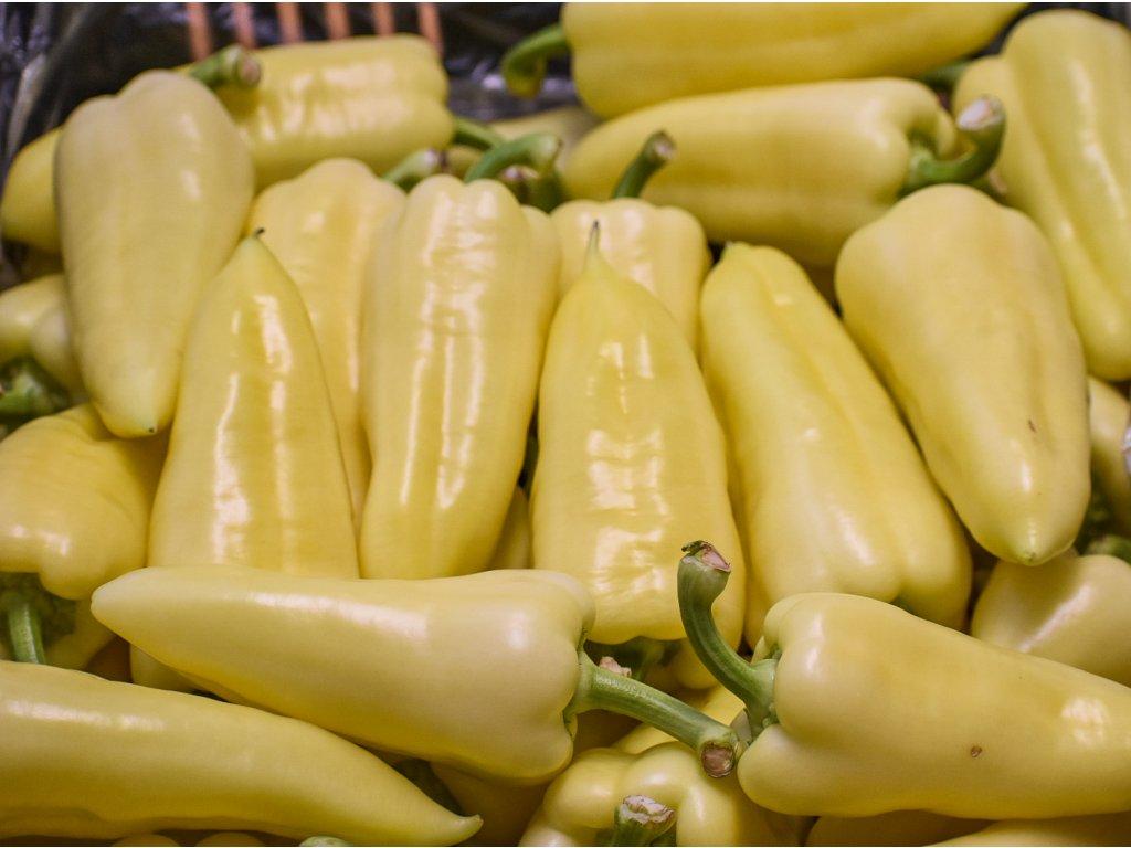Paprika biela sladká