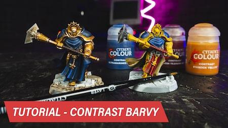 Citadel Contrast barvy