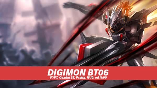 DIGIMON BT06 DOUBLE DIAMOND PRE-RELEASE - SOBOTA 16.10.