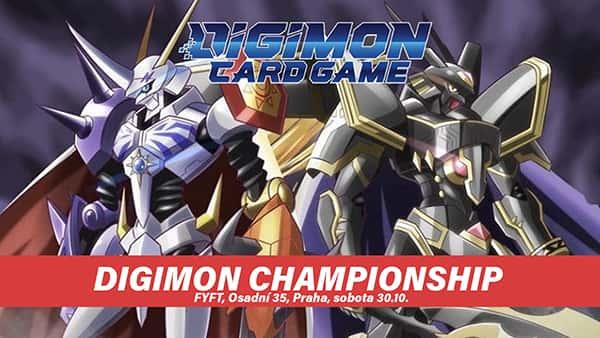 DIGIMON STORE CHAMPIONSHIP - SOBOTA 30.10. FYFT PRAHA