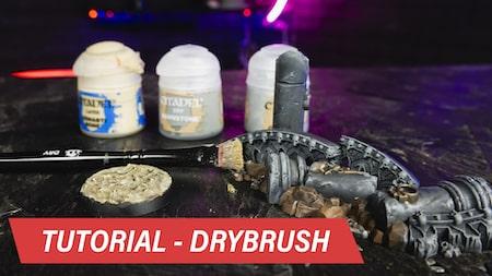 Technika Drybrush