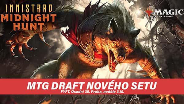 MTG DRAFT Innistrad: Midnight Hunt - 3.10 FYFT PRAHA