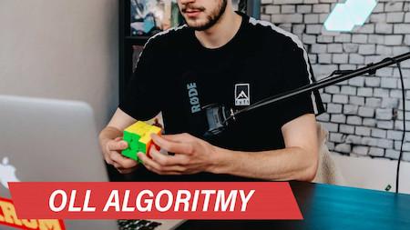 OLL algoritmy na Rubikovu kostku 3x3