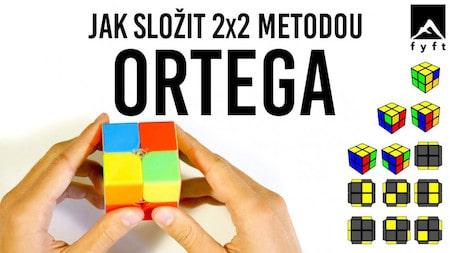 Jak složit 2x2 kostku metodou ORTEGA