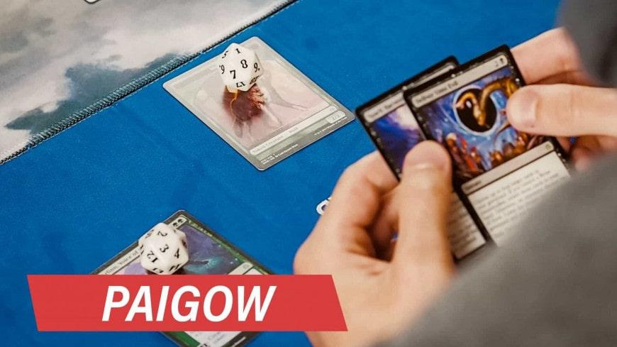 PaiGow – Minihra v MTG
