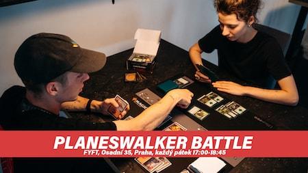MTG Planeswalker Battle - každý pátek ve FYFT PRAHA