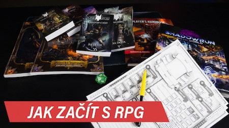 Jak začít s RPG