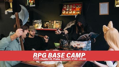 RPG Base Camp - cvičiště pro RPG hráče 2.9 FYFT PRAHA