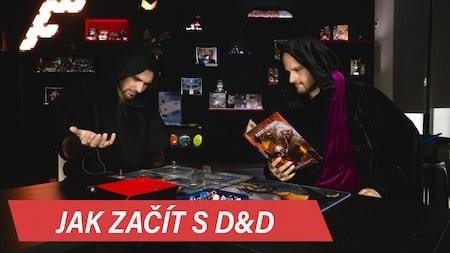 Jak začít hrát Dungeons & Dragons