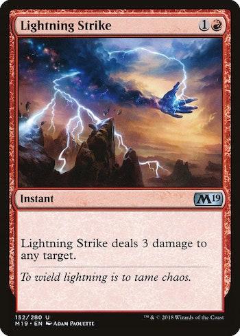 Lightning Strike Standard