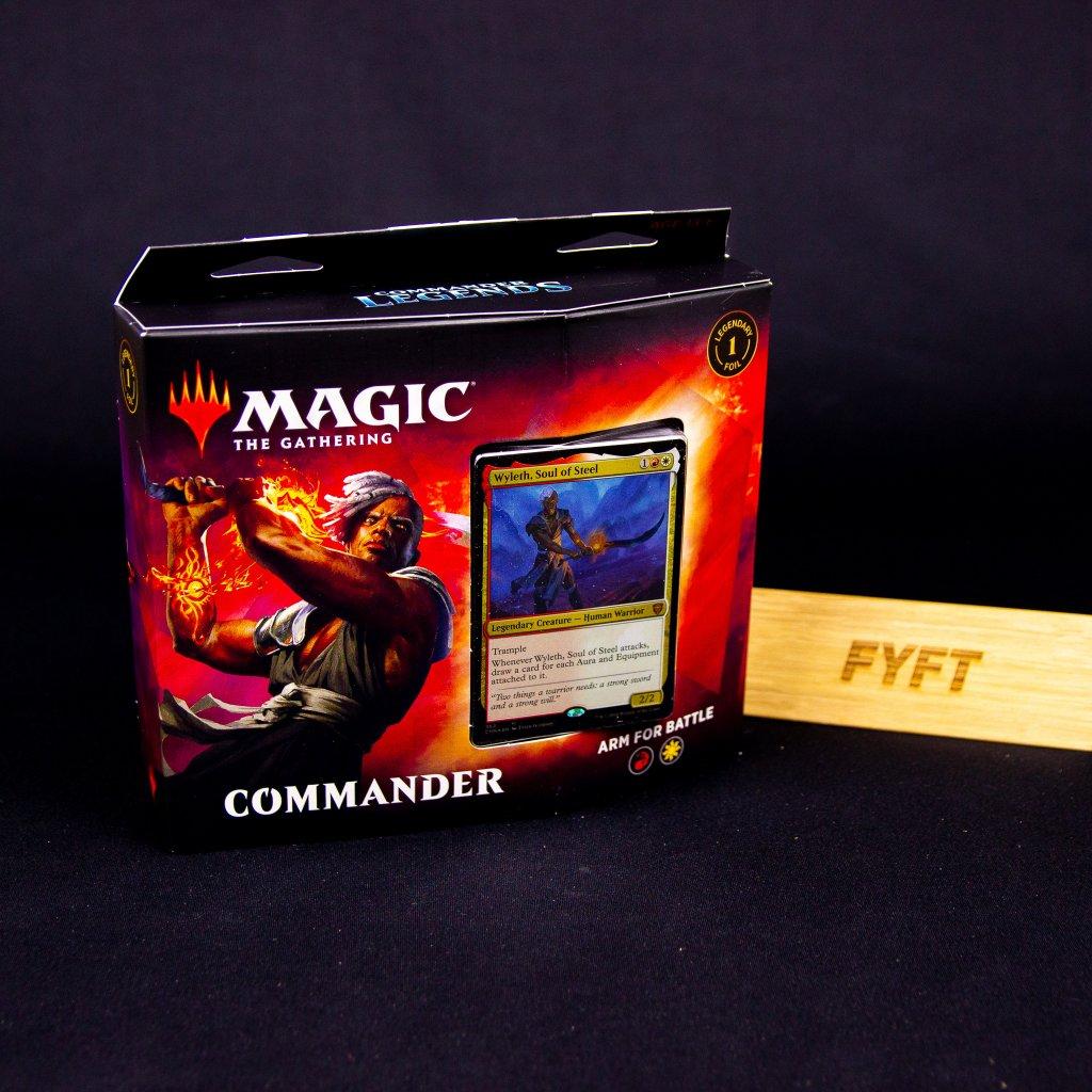 Arm for Battle - Commander Legends - Commander Deck (Magic: The Gathering)