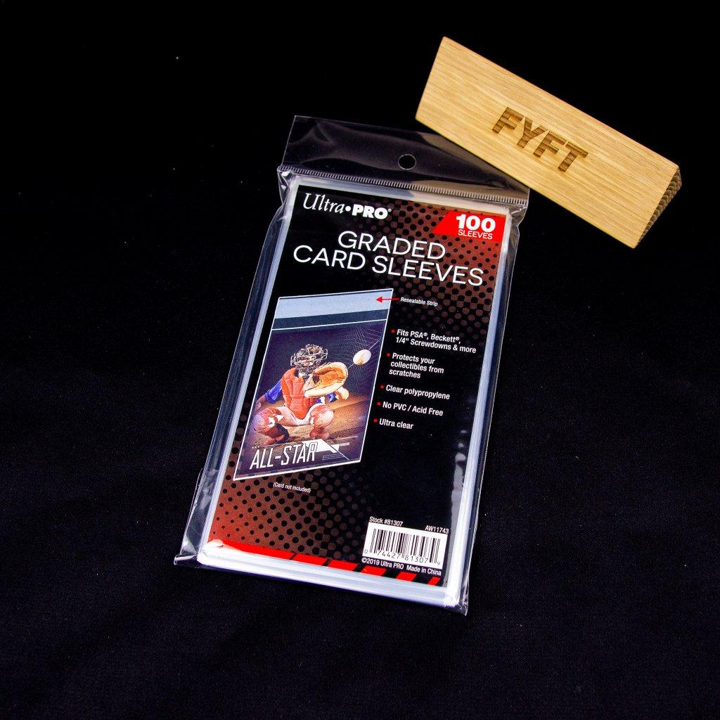Graded Card Sleeves (100ks) - Ultra Pro obaly na karty
