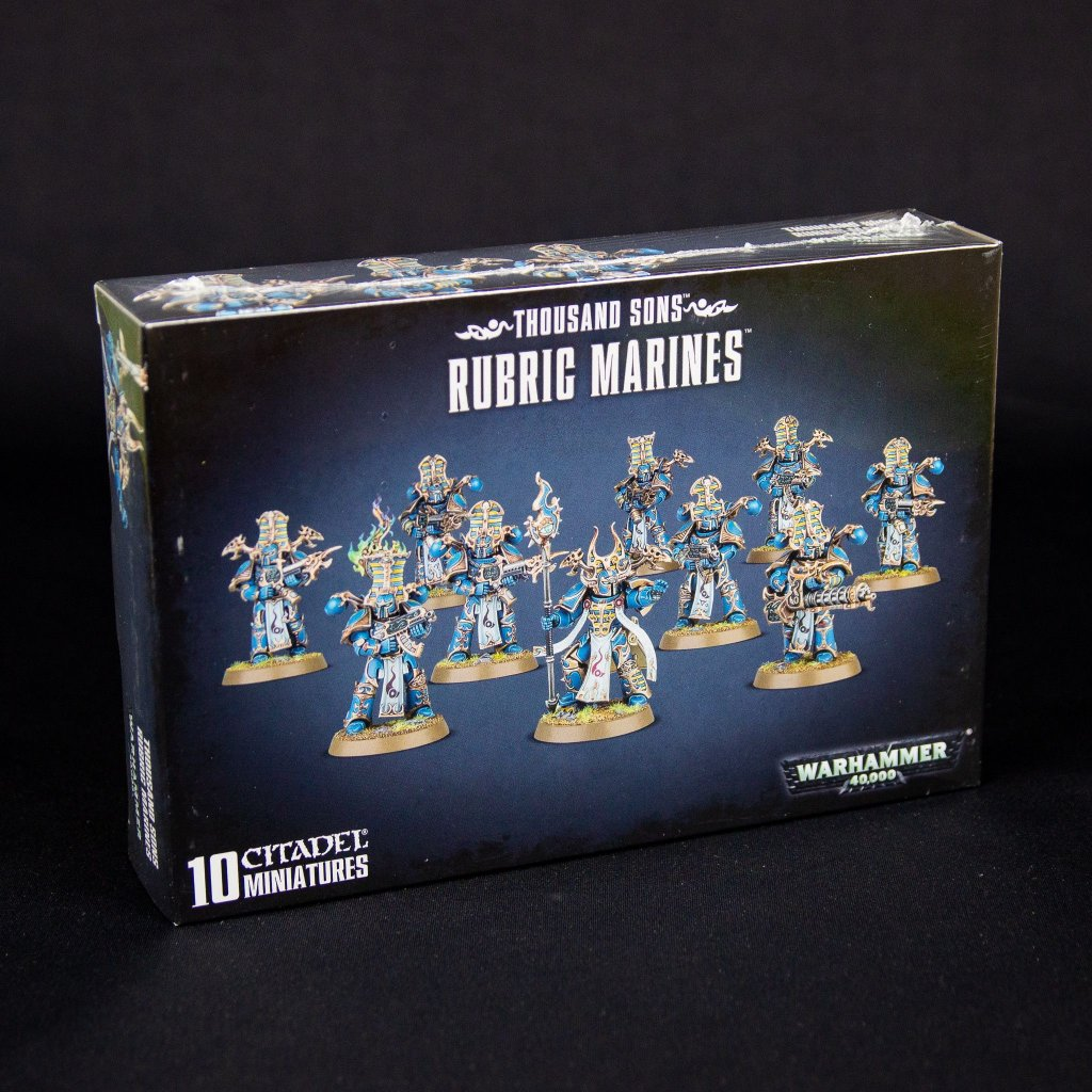 Warhammer 40000: Thousand Sons Rubric Marines