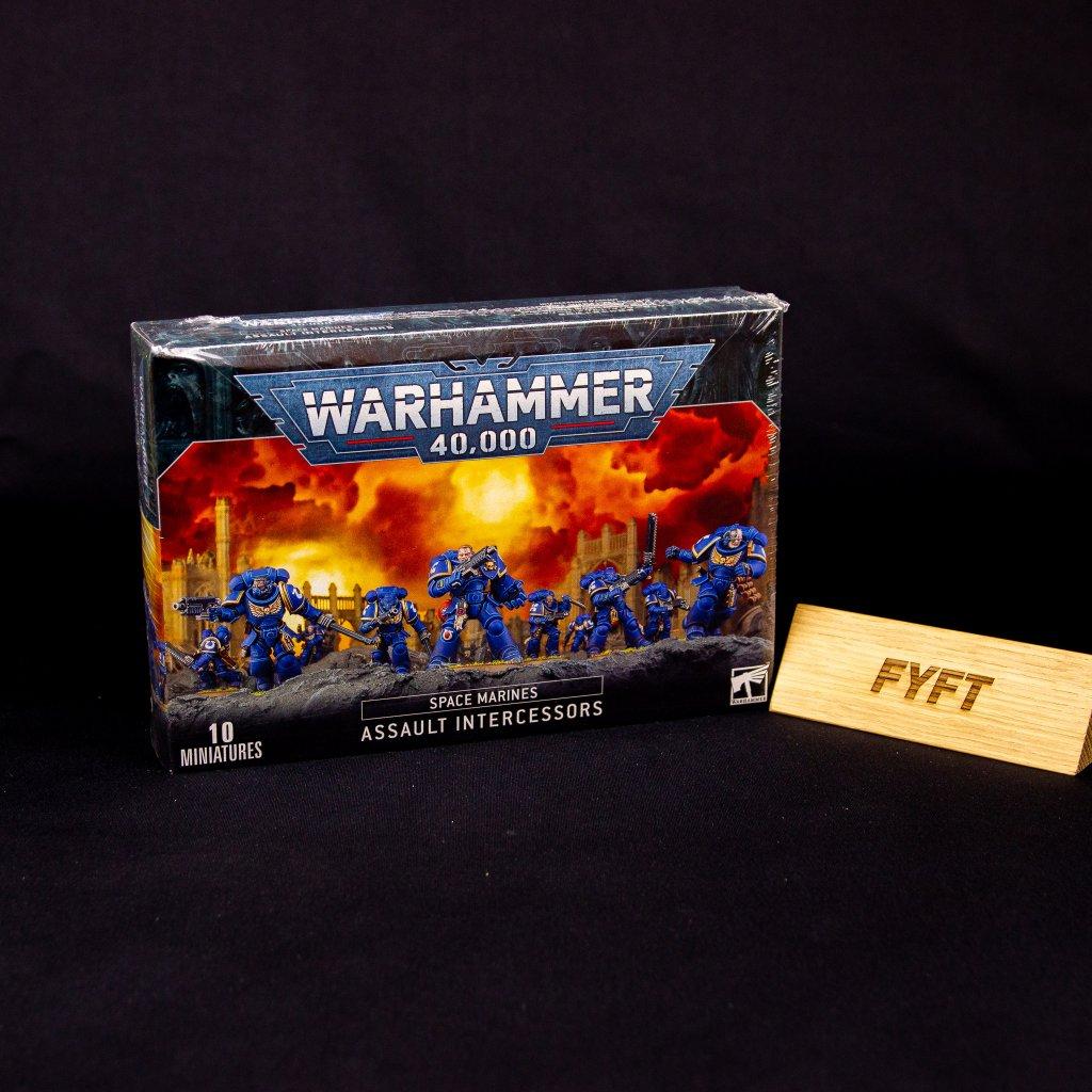 Warhammer 40000: Space Marines Assault Intercessors