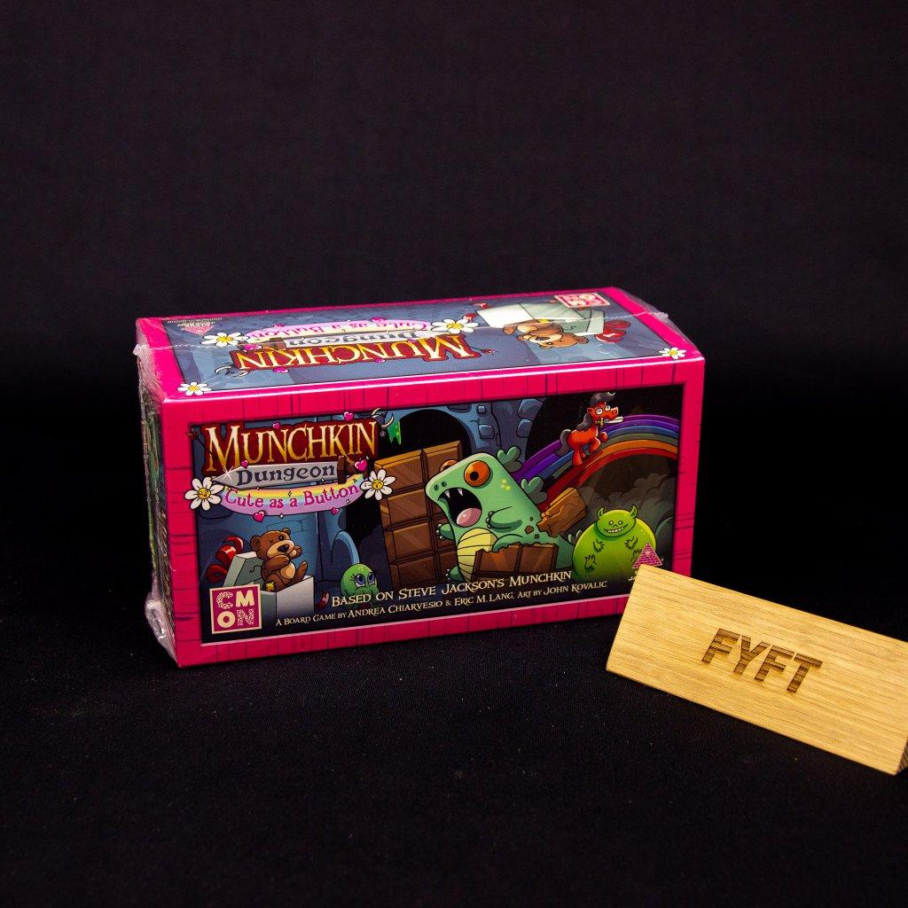 Munchkin Dungeon: Cute as a Button - EN (CMON)
