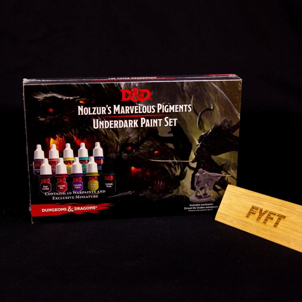 D&D: Nolzur's Marvelous Pigments - Underdark Paint Set (Army Painter)
