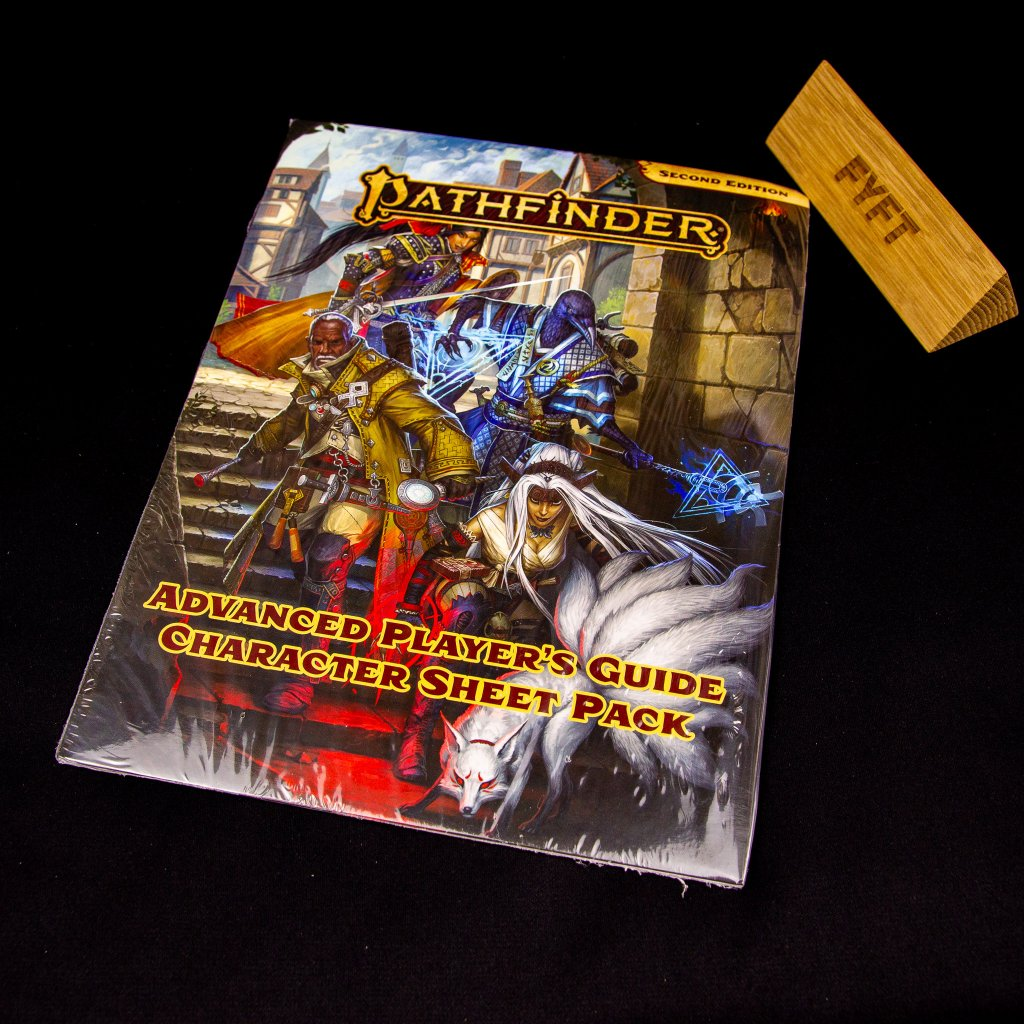 Pathfinder (Second edition) Advanced Player's Guide Character Sheet Pack - EN