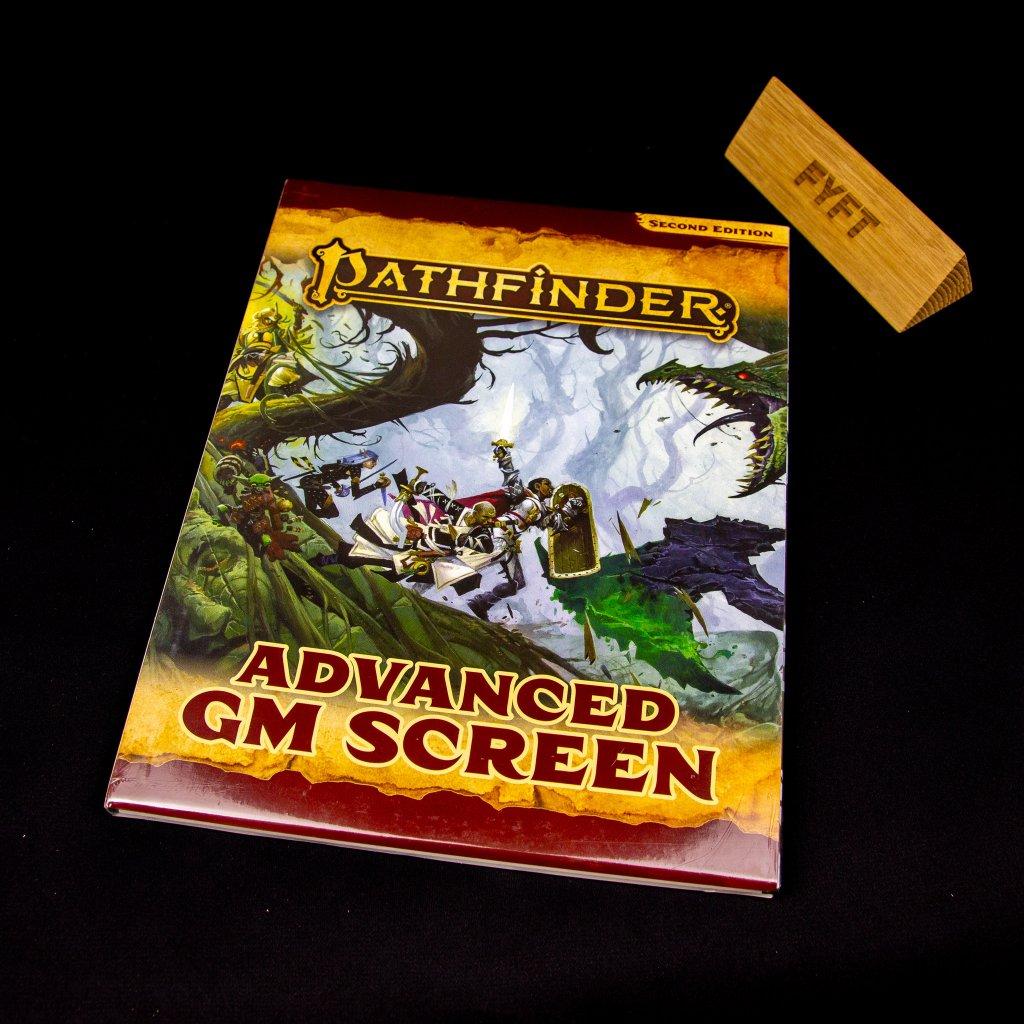 Pathfinder (second edition) Advanced GM Screen