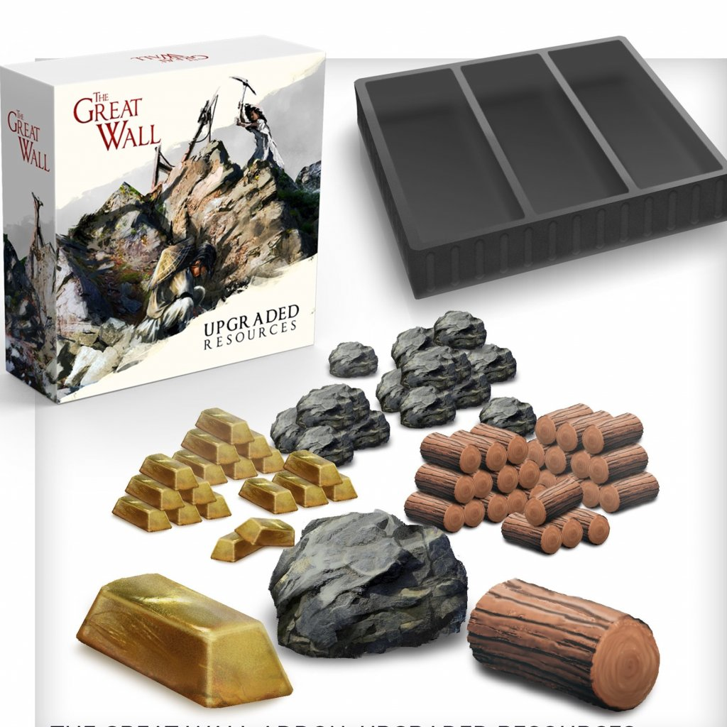 The Great Wall - Upgraded Resources (Awaken Realms)
