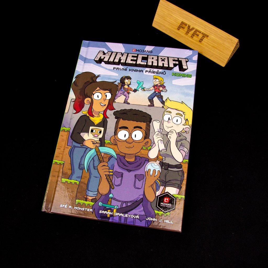 Minecraft komiks: První kniha příběhů (Crew)