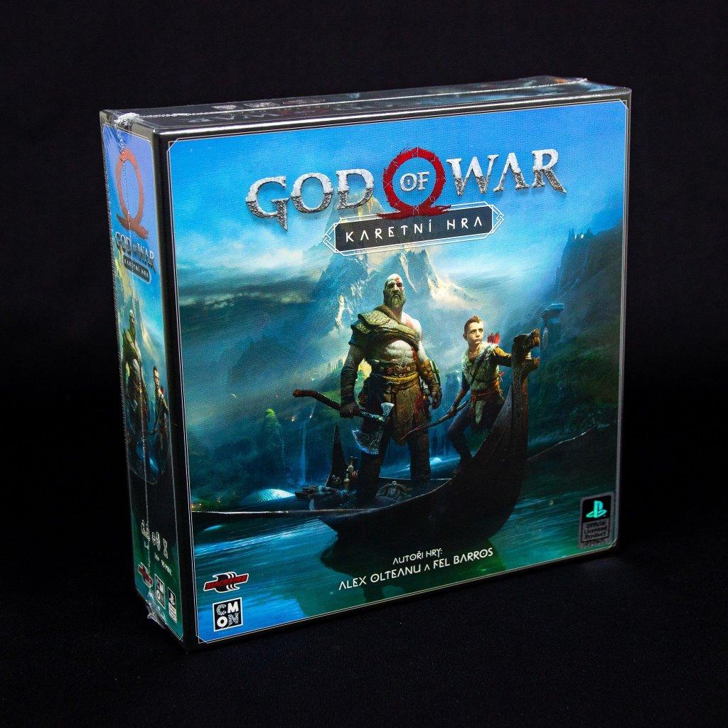 God of War - karetní hra (Blackfire)