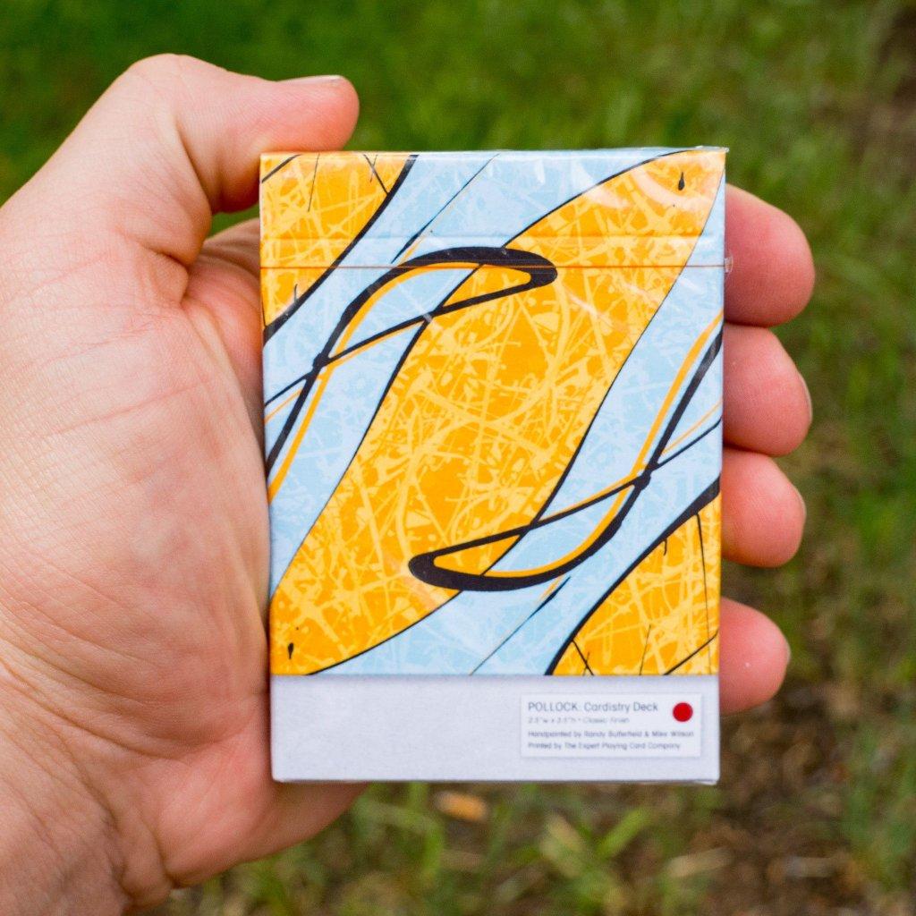 Pollock Cardistry deck (EPCC)