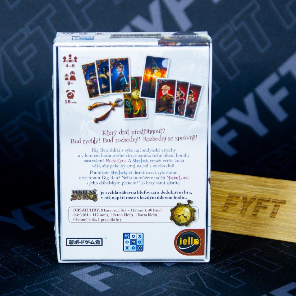 Pekelný stroj: Moriarty vs. Sherlock (Rexhry)