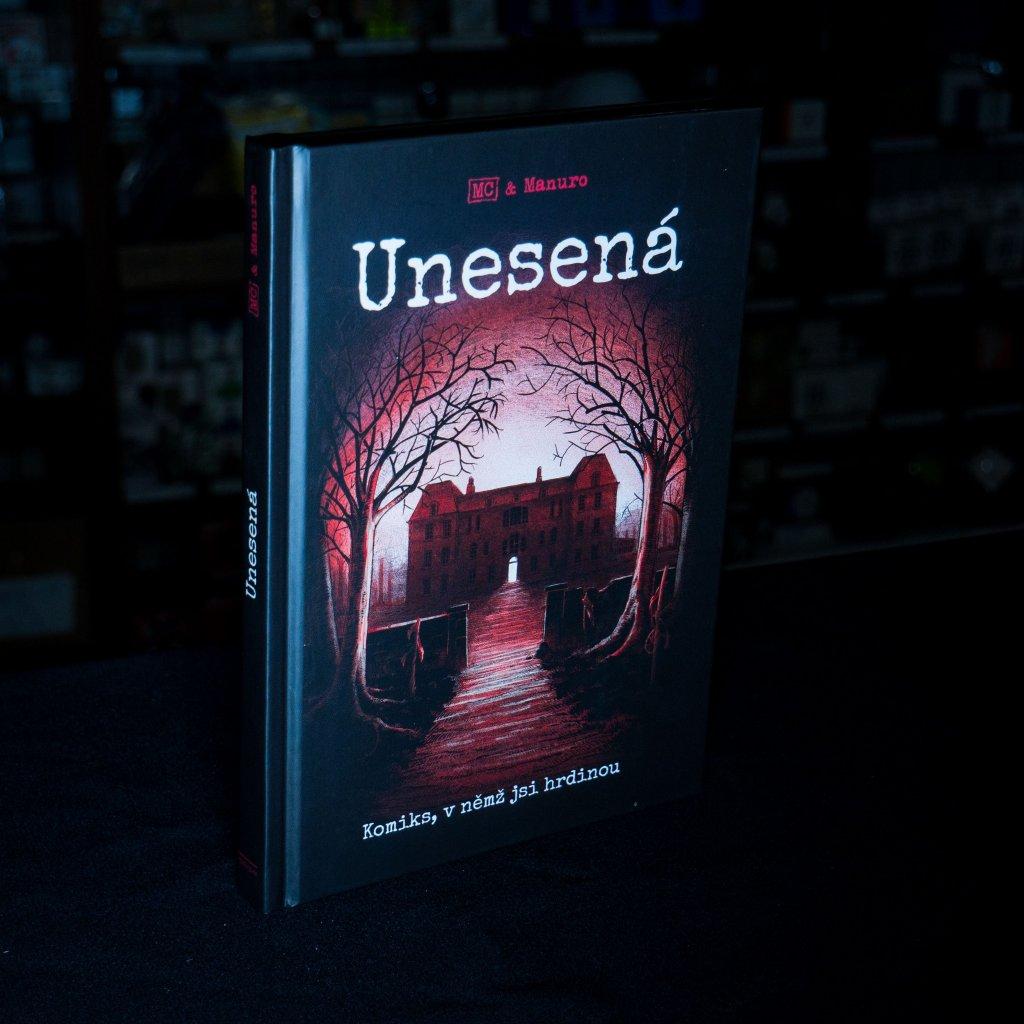 Unesená - komiksový gamebook (REXHry)