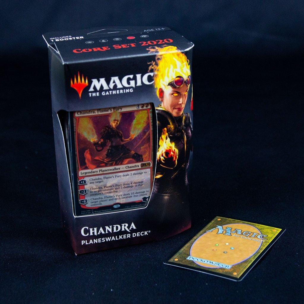 Chandra Planeswalker deck Core set 2020 (M20, Magic: the Gathering)
