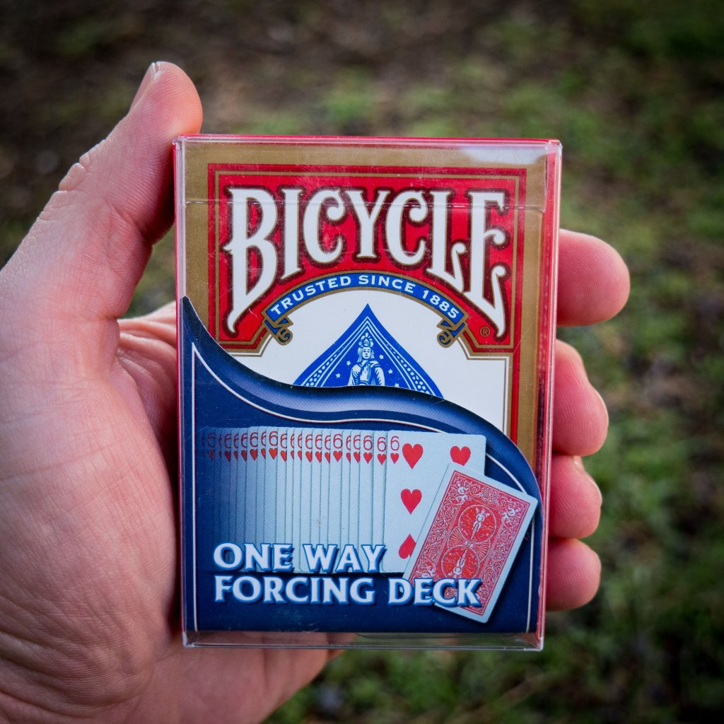 One Way Forcing Deck (Bicycle)