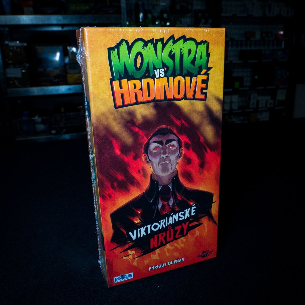 Monstra vs. Hrdinové: Viktoriánské hrůzy (Blackfire)