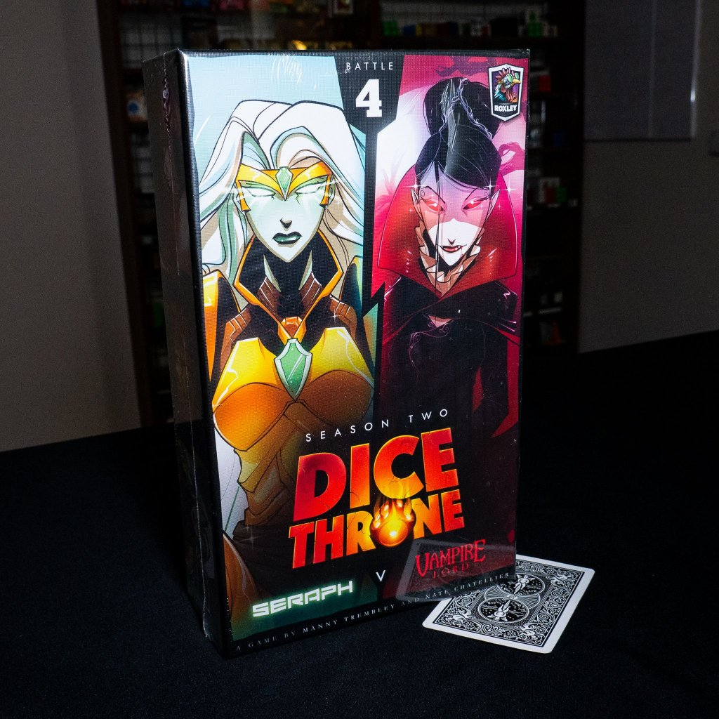 Dice Throne: Season Two – Vampire Lord v. Seraph - EN (Roxley)