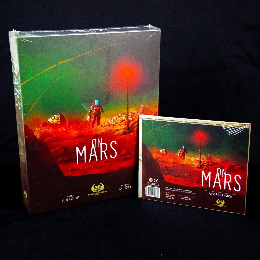 On Mars - EN - Kickstarter verze (Eagle Gryphon)