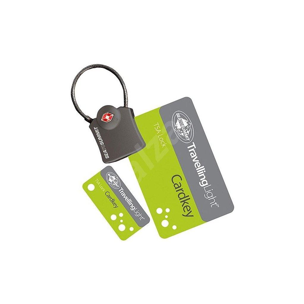 Cestovní zámek TSA - Card key